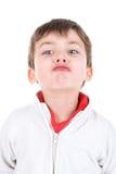 Caras del muchacho Fotografía de archivo libre de regalías