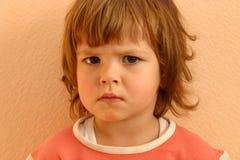 Caras del niño Fotos de archivo libres de regalías