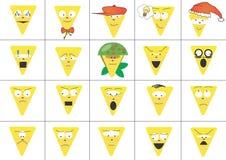 Caras del triángulo ilustración del vector