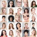 Caras dos povos Fotos de Stock