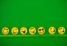 Caras felices Foto de archivo
