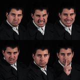 Caras múltiples Foto de archivo libre de regalías