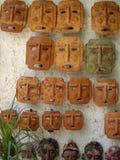Caras mexicanas del patio Imagenes de archivo