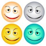 Caras sonrientes Fotografía de archivo