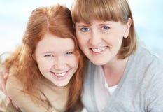 Caras sonrientes Foto de archivo libre de regalías