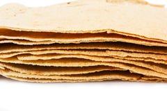 Carasau-Brot von Sardinien Italien Stockbilder