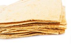 Carasau-Brot von Sardinien Italien Stockbild