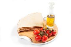 Carasau-Brot von Sardinien Italien Lizenzfreies Stockfoto