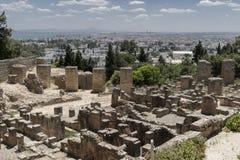 Caratagina en Túnez Fotografía de archivo