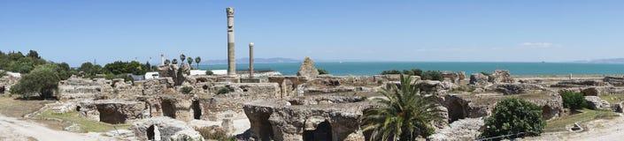 Caratagina i Tunisien Arkivfoton