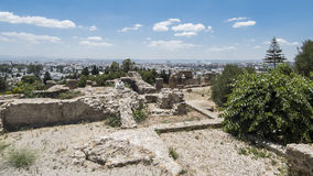 Caratagina i Tunisien Royaltyfria Foton