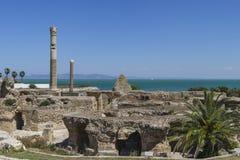 Caratagina in Tunesië Stock Afbeeldingen