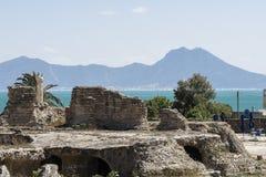 Caratagina in Tunesië Royalty-vrije Stock Foto's