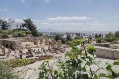 Caratagina in Tunesië Royalty-vrije Stock Foto