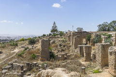 Caratagina in Tunesien Stockbild