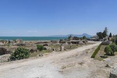 Caratagina in Tunesien Stockfoto