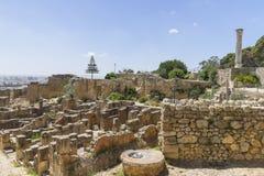 Caratagina w Tunezja Fotografia Stock