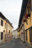 Carate Brianza (Lombardy, Italy): street Stock Photography