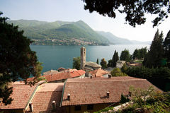 Carate Urio - Lake Como Stock Images