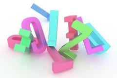 Carattere alfabetico per la lettera di ABC Buon per progettazione grafica o fondo Mucchio, parola, materiale illustrativo & simbo illustrazione di stock