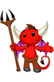 Carattere del diavolo - presentando royalty illustrazione gratis
