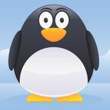 Carattere del pinguino illustrazione di stock
