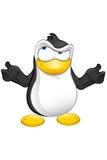 Carattere del pinguino - confuso royalty illustrazione gratis