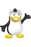 Carattere del pinguino - presentando royalty illustrazione gratis