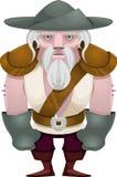Carattere del pirata del gioco Fotografia Stock