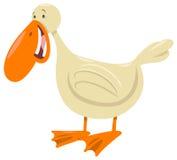Carattere dell'animale dell'uccello dell'anatra Fotografie Stock
