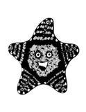 Carattere della stella illustrazione vettoriale