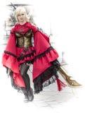 Carattere di cosplay Fotografia Stock