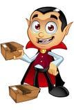 Carattere di Dracula - pacchetto della tenuta royalty illustrazione gratis