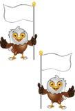 Carattere di Eagle calvo Fotografie Stock Libere da Diritti