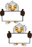 Carattere di Eagle calvo Immagine Stock