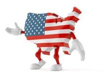 Carattere di U.S.A. Immagine Stock