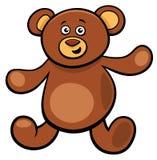Carattere sveglio del giocattolo del fumetto dell'orsacchiotto Fotografia Stock