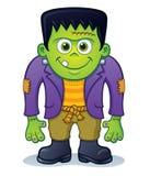 Carattere sveglio del mostro di Frankenstein Fotografie Stock Libere da Diritti