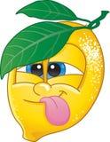 Limone del fumetto Fotografia Stock