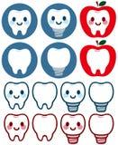 Carattere sveglio di dentario royalty illustrazione gratis