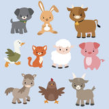 Caratteri animali Fotografia Stock Libera da Diritti