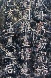 Caratteri cinesi Immagini Stock