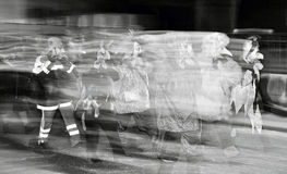 Caratteri confusi di carnevale Immagini Stock