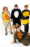Caratteri Costumed Fotografie Stock Libere da Diritti