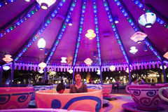 Caratteri del fatato di Disneyland Immagini Stock Libere da Diritti