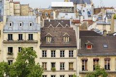 Caratteristiche dell'alloggio francese Fotografia Stock