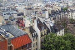 Caratteristiche dell'alloggio francese Fotografie Stock