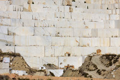 caravaca cruz de Λα marble κοντά στο λατομείο Ισπανία Στοκ Φωτογραφίες