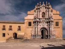 Caravaca de la Cruz, Spain. La Vera Cruz Sanctuary and Fortress in Caravaca, a pilgrimage centre and the Fifth Holy City of Catholic Christianity. Murcia, Spain stock images