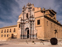 Caravaca de la Cruz, Spain. La Vera Cruz Sanctuary and Fortress in Caravaca, a pilgrimage centre and the Fifth Holy City of Catholic Christianity. Murcia, Spain royalty free stock photos